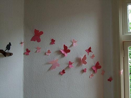 Как своими руками украсить стену фото